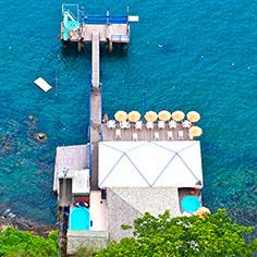 Mahi Mahi Vista de Cima