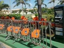 Projeto Bike Turista chega a hotel da Rede Sol Express