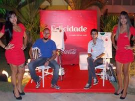 Ação da Coca-Cola no Réveillon do Gran Hotel foi um sucesso