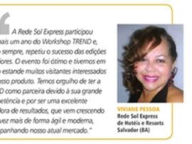 Participação da Rede Sol no Workshop TREND em depoimento na Revista Segue Viagem
