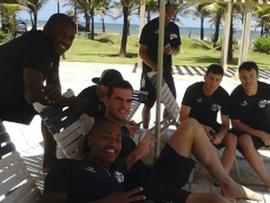 Jogadores do Grêmio hospedam-se no Gran Hotel Stella Maris