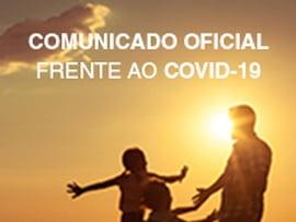Comunicado oficial frente ao Covid-19