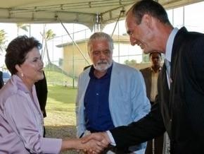 Dilma Rousseff no Stella Maris